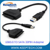 Popular Item USB3.0 to SATA 22pin Adapter Cable for 2.5 Inch HDD SSD