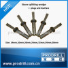 Steel Rock Wedge and Shims for Sandstone