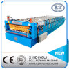 Factory Outlet Latest Popular CNC Galvanized Colored Glaze Tile and Ibr Double Deck Roofing Roll Forming Machine