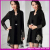 2015 New Fashion Printed Flora Colorful Choice Woman Coat (C-112)
