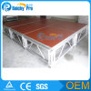 Anti-Slip Portable Stage, Aluminium Folding Stage, Waterproof Stage for Performance (1.22*1.22m /1.22*2.44m)