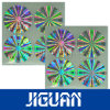 3D Gold Color Custom Design Holographic Stickers Sheets