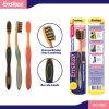 Luxury Adult Toothbrush with Golden & Activated Charcoal Bristles 889