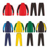 Custom Soccer Tracksuit Warm up Suit Jacket and Pants for Mens