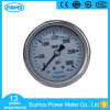 60mm 2.5 Inch Stainless Steel Case Liquid Filled Pressure Gauge