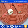 Rust Red Color Fiberglass Insulation Silicone Fire Sleeve