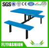 Wooden Simple Design Canteen Tables with Chairs (DT-10)
