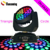 Zoom LED Moving Head Wash DJ Lighting
