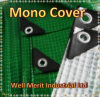 Tough Heavy Duty 170GSM Mono Cover, Ground Sheet Green and Clear