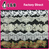High Quality Fashion Garment Lace Black Sequin Embroidery Guipure Lace