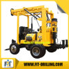 200m Deep Trailer Mounted Portable Water Well Drilling Rig Machine