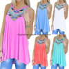 Latest Bohemian Style Loose Women Spaghetti Strap Tank Top
