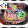 Indoor Kids Electric Cakes Roundabout Train for Shopping Mall
