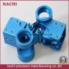 Customized Blue Anodize CNC Machining Parts