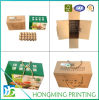 Custom Printed Corrugated Cardboard Egg Carton
