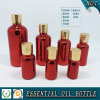 Deep Red Electroplated Glass Essential Oil Bottles