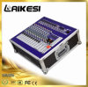 650W Professional Power Mixer with Amplifier 8 Channels