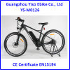 Electric Mountain Bicycle with Carbon Fiber Frame