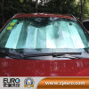Car Using Front Windshield Sun Shade