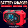 One Click Repair 12V 24V Auto 4A 6A Small Size Battery Car Charger AC 220V 110V Power Supply