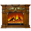New Product Ideas 2018 Electric Room Heaters Artificial Fire Fireplace Insert Mobile Phone APP Remote Control