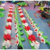 Wedding Decoration Inflatable LED Flower/Inflatable Flower Chain with LED Light