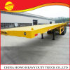 Mechanical Suspension Leaf Spring China Low Price 3 Axles Widely Used Flat Bed Trailers for Africa Market