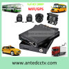 4CH Automotive DVR with GPS Tracking 4G Network Smartphone Remote View for CCTV Surveillance System