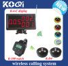 CE Approved 433.92MHz Restaurant Wireless Service Calling System