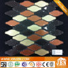 3D Cutting Gourd Shape Colo Spray Glass Mosaic (G855016)