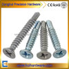 Zinc Plated Flat Head Phillips Self Drilling Screw DIN7504p