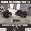 Modern Wooden Frame Recliner   Sofa of Living Room Furniture