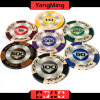 High Quality/ 14G Clay Poker Chips with Mette Sticker Casino Clay Chips Ym-Cy01