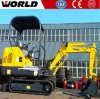 World Brand 1.8ton Mini Hydraulic Excavator Price List