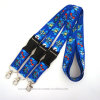 Printed Promotion ID Card Lanyard with Detachable Buckle