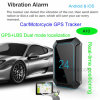 GPS Car/Vehicle/Motorcycle Tracker with GPS/Lbs Dual Mode Location A10