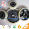 Wear Resistant Rubber Covered Roller Wheel Industrial Caster with Metal Core for Machinery