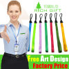 Free Sample Custom Polyester Neck Crafts Lanyard Strap for Key/ID Card/Camera Cell