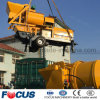 with High Quality 40m3/H Portable Twin-Shaft Mixer with Pump for Sale