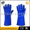 Welding Leather Gloves Welder Safety Working Gloves (WCBB01)