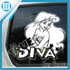 Design Glamorous Woman True Diva Car Window Sticker