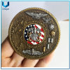 High Quality Custom Design Coin, 3D Two Tone Coin, Challenge Coin, Commemorative Coin for Souvenir Gifts