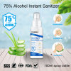 Visbella 75 Alcohol Hand Wash Gel Transparent Waterless Hand Sanitizer Custom Travel Size Bulk 100ml Liquid Pocket Cleaning Hand Sanitizers