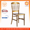 Samsung Polycarbonate Material Gold Resin Chiavari Napoleon Chair
