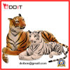 2 Colors Plush Tiger Stuffed Tiger Stuffed Zoo Animals