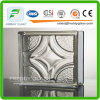 Mist, Mosaic, Oblique Line Glass Brick, Well Shape Glass Block/