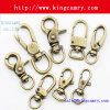 Solid Brass Swivel Hook Clasp Hooks for Bag Dog Handbag Snap Hooks Spring Hook Key Hook Spring Hook