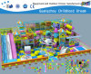 Soft Playground for Indoor and Outdoor with Ball Pool and Slides (H14-0915)