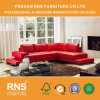 Hot Sale Traditional Sectional Leather Sofa for Living Room 6055