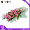Luxury Custom Printing Packaging Texture Paper Gift Square Flower Box